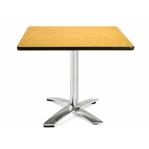 36-Inch Square Folding Multi-Purpose Oak Table