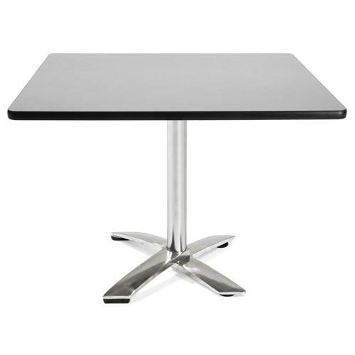 42-Inch Square Folding Multi-Purpose Gray Nebula Table