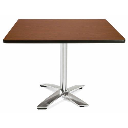 42-Inch Square Folding Multi-Purpose Mahogany Table