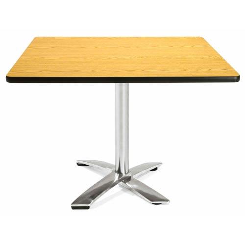 42-Inch Square Folding Multi-Purpose Oak Table