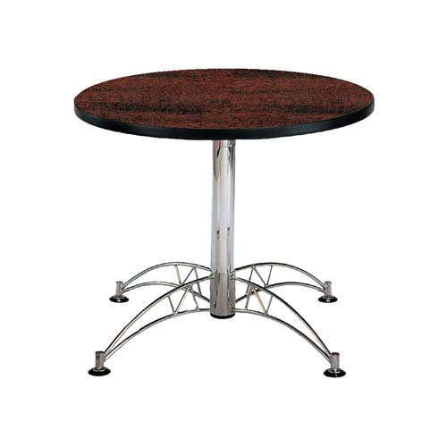 OFM Office Furniture Mahogany 36-Inch Round Office Table