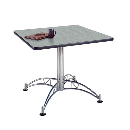 OFM Office Furniture Gray Nebula 36-Inch Square Office Table