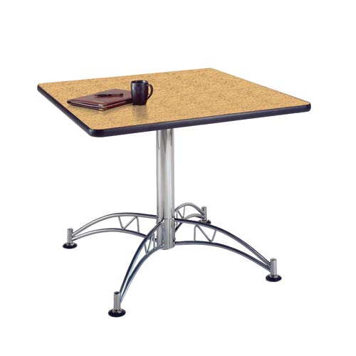Oak 36-Inch Square Office Table