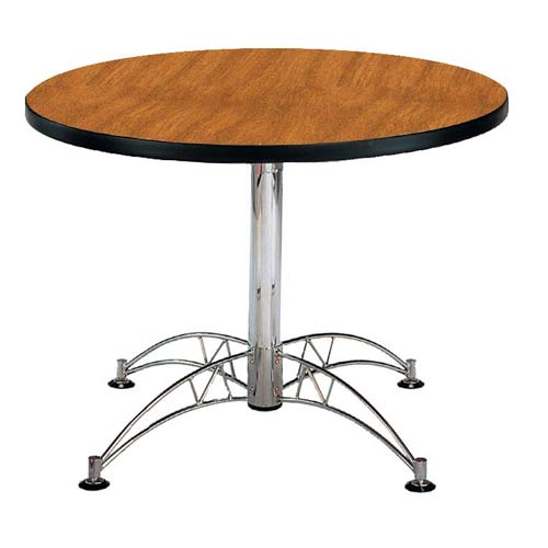 Cherry 42-Inch Round Office Table