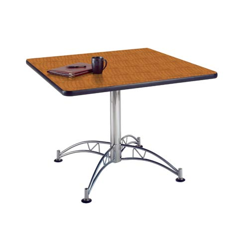 OFM Office Furniture Cherry 42-Inch Square Office Table