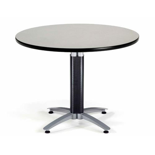 Ofm Office Furniture Inch Multi Purpose Round Gray Nebula Table - 42 inch round office table