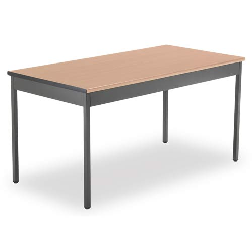 OFM Office Furniture Utility 24 x 48 Table - Maple