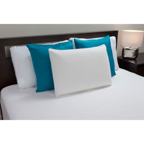 Comfort Revolution White Standard Memory Foam Bed Pillow