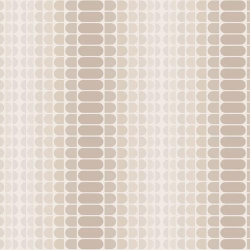 Novogratz Geometric Gradient Greige Removable Wallpaper