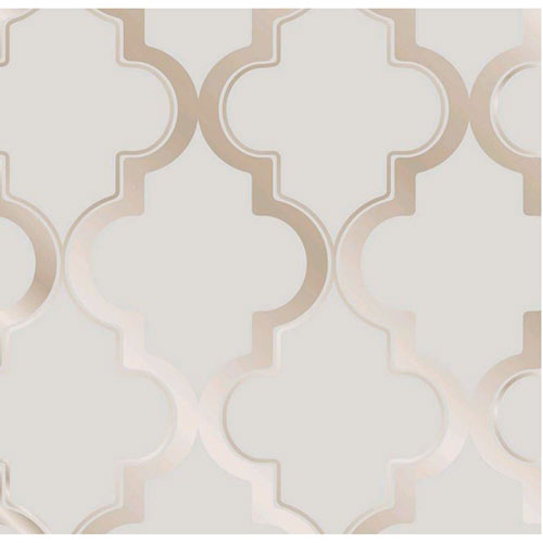Marrakesh Bronze Gray Removable Wallpaper