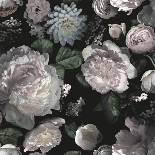 Moody Floral Removable Wallpaper
