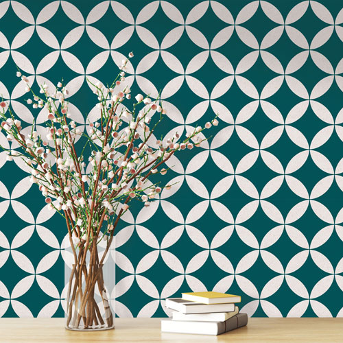 Terrazzo Star Removable Wallpaper