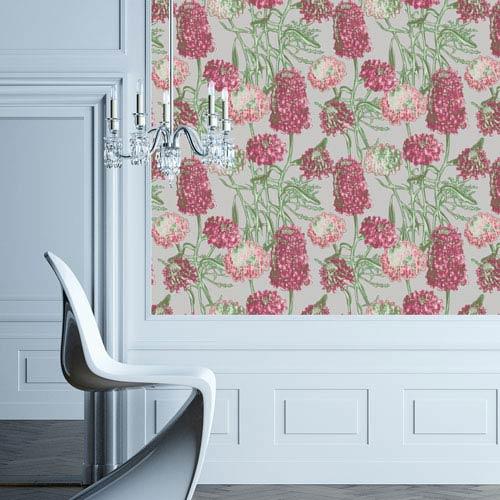 Hydrangea Blush Removable Wallpaper