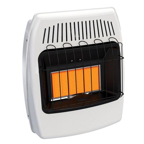 Single Fuel Manual Vent-Free Wall Heater