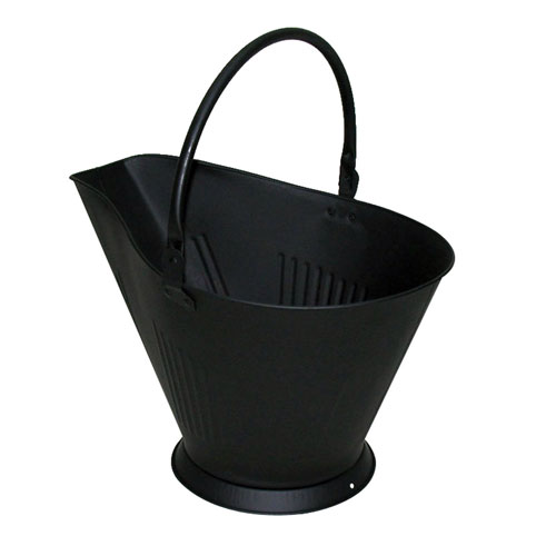 Pleasant Hearth Black Steel Coal Hod