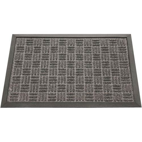 Wellington Charcoal 16 x 24-Inch Door Mat