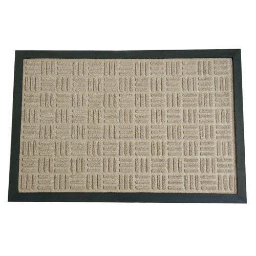 Wellington Tan 16 x 24-Inch Door Mat