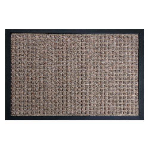 Nottingham Brown 16 x 24-Inch Indoor Door Mat