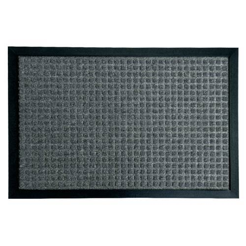Nottingham Charcoal 18 x 30-Inch Indoor Door Mat