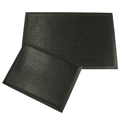 Rubber-Cal Black Comfort Cloud 24-Inch x 36-Inch Foam Anti-Fatigue Mat