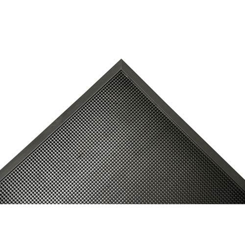 Rubber-Cal Door Scraper Black Border Front Rubber Door Mats