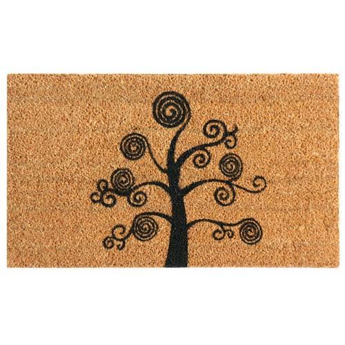 Deciduous Tree 24 x 57-Inch Modern Doormat