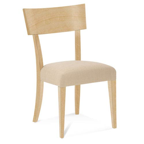 Peter Francis Impression Side Chair in Natural Finish
