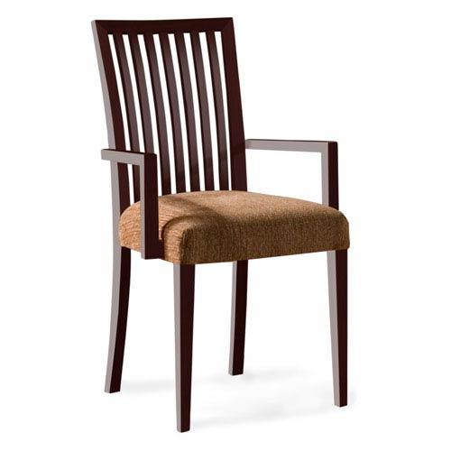 Skyline Impression Arm Chair in Java Finish