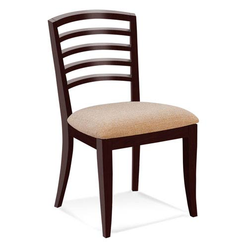 Peter Francis Bounty Side Chair in Java Finish