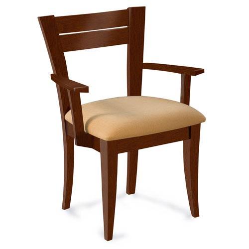 Skyline Linen Arm Chair in Harvest Finish