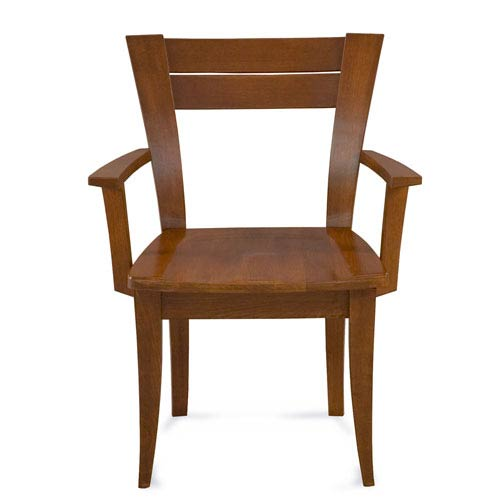 Skyline Chocolate Arm Chair