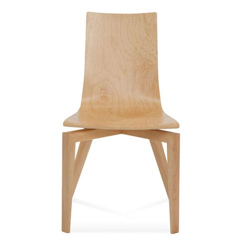 Saloom Furniture Slip Natural Dining Chair