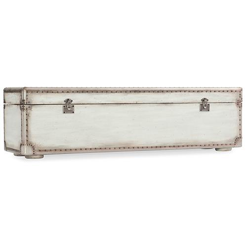 Arabella White Storage Bench