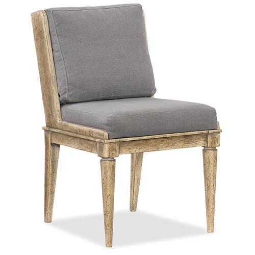 Hooker Furniture Urban Elevation Light Wood Upholstered Side Chair