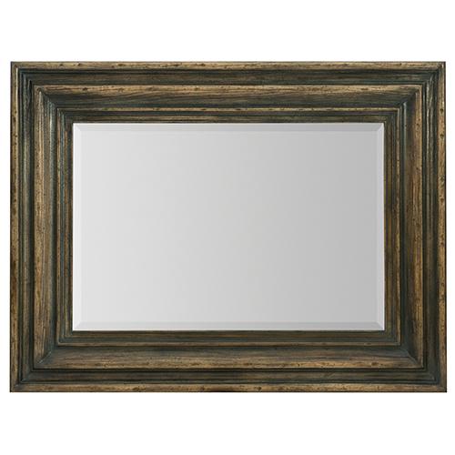 Crafted Dark Wood Vertical Mirror