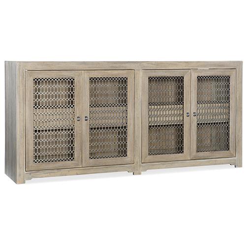 Hooker Furniture Amani Light Wood Four-Door Buffet
