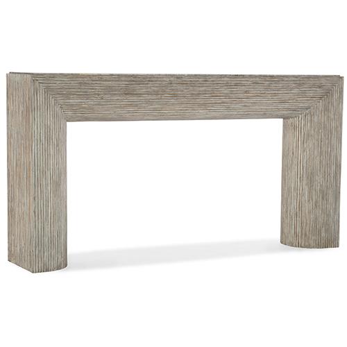 Hooker Furniture Amani Light Wood Sofa Table