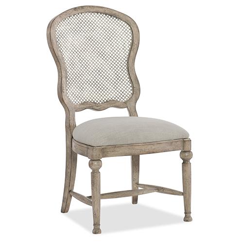 Hooker Furniture Boheme Gaston Metal Back Side Chair