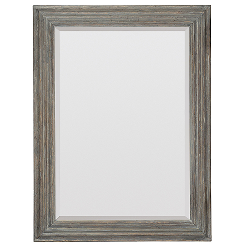Beaumont Gray Landscape Mirror