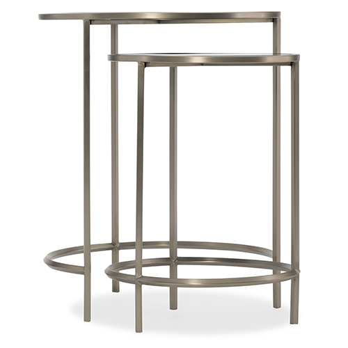 Silver Nesting Tables