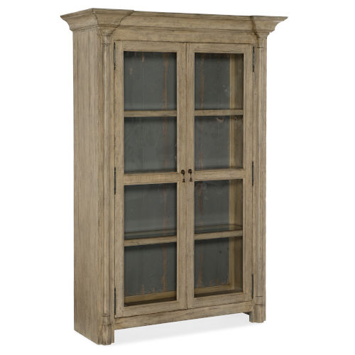 Ciao Bella Light Wood 54-Inch Display Cabinet