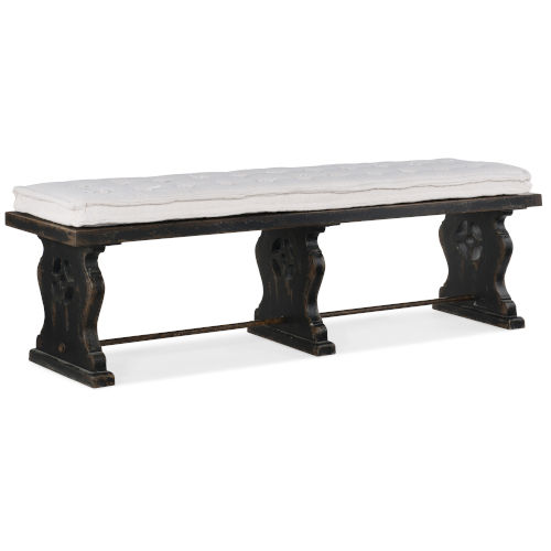 Ciao Bella Black 72-Inch Bench