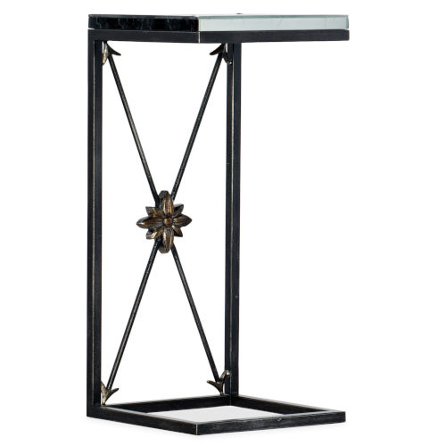 Sanctuary Champagne C-Shape Accent Table