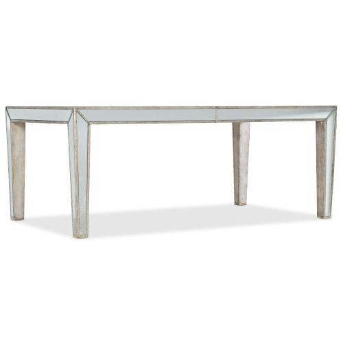 Sanctuary Champagne 76-Inch Rectangular Dining Table