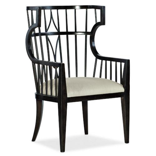 Sanctuary Noir Host Chair