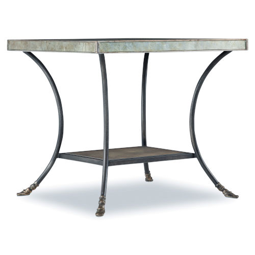 Sanctuary Champagne 24-Inch End Table