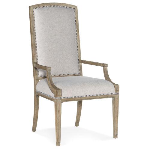 Castella Brown Arm Chair, Set of 2