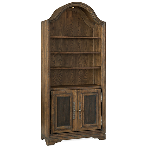 Hill Country Pleasanton Brown Bunching Bookcase