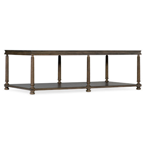 Vera Cruz Russet Brown Rectangle Cocktail Table