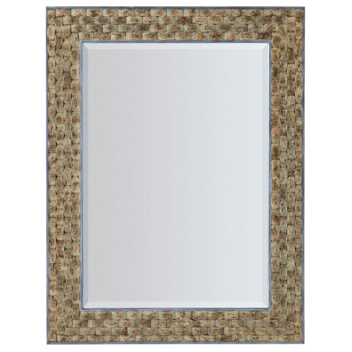 Surfrider Brown Portrait Mirror